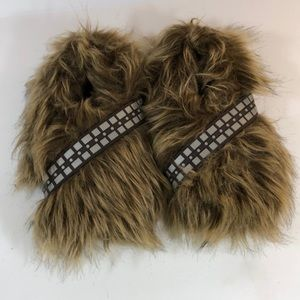 Chewbacca slippers Star Wars size 2/3